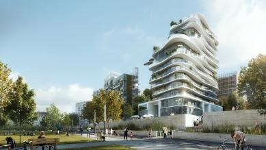 UNIC  - Vizualizace - foto: MAD Architects