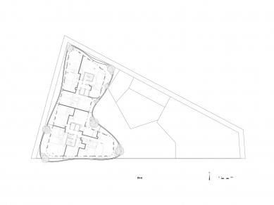 UNIC  - Půdorys 4.np - foto: MAD Architects