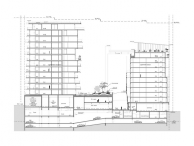 UNIC  - Řez - foto: Biecher Architectes