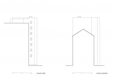 Bytový dům Vídeňská - Pohledy - foto: Fránek Architects s.r.o.