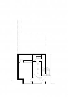 Rodinný dům v údolí Dyje - Půdorys 1NP