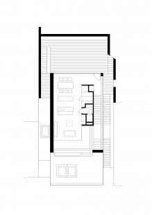 Rodinný dům v údolí Dyje - Půdorysy 3NP