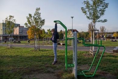 Rekonstrukce Komořanského náměstí - foto: Jiří Ernest