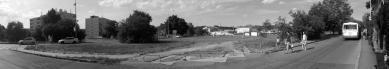 Rekonstrukce Komořanského náměstí - Původní stav