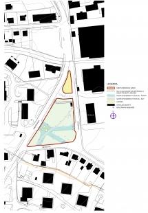 Rekonstrukce Komořanského náměstí - Situace