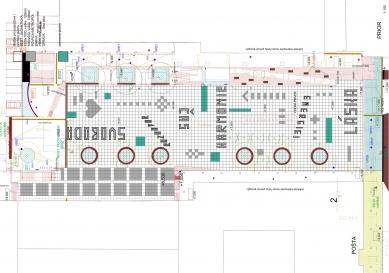 Rekonstrukce Sofijského náměstí - Půdorys