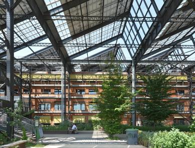 Rekonstrukce tržnice Pajol - foto: Petr Šmídek, 2019