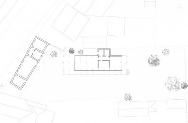 Atelierpavillon R - Situace - foto: Maximilian Eisenköck