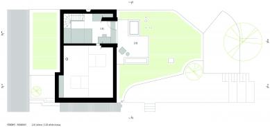 Rekonstrukce a přístavba domu vbývalé dělnické kolonii - Půdorys 2NP