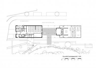 Keltsko-římské museum, Manching - Spodní patro - foto: fischer_Z architekten