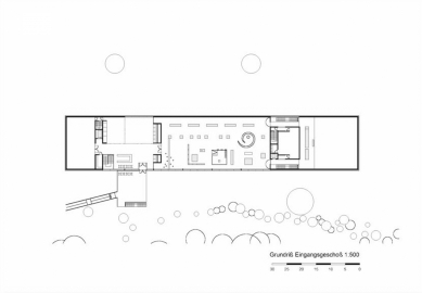 Keltsko-římské museum, Manching - Vstupní patro - foto: fischer_Z architekten