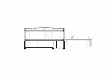 Keltsko-římské museum, Manching - Příčný řez - foto: fischer_Z architekten