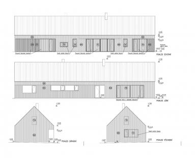 Centrum technologie zpracování dřeva v Žitovlicích - Pohledy dřevěné novostavby - foto: Studio acht