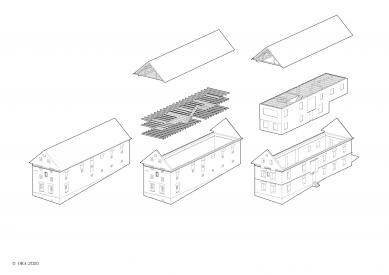 Dům v ruině - Diagram