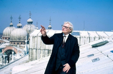 Projekt kongresového paláce vBenátkách - Kahn v Benátkách