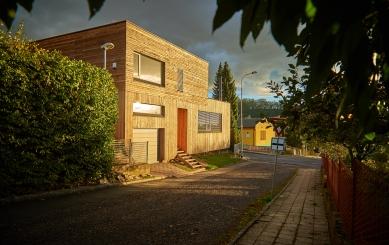 Dům vBrandýse nad Orlicí - foto: Miloslav Bien