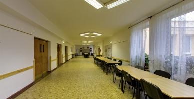 Rekonstrukce víceúčelového sálu SOUE Vejprnická - Fotografie původního stavu - foto: projectstudio8