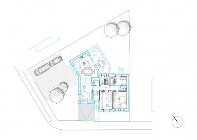 Dům u Meteoru - Situace - foto: ARCHPORT
