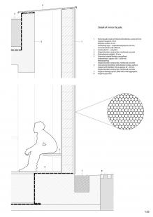 Věčná loviště - zvířecí krematorium - Detail - foto: Petr Hájek Architekti