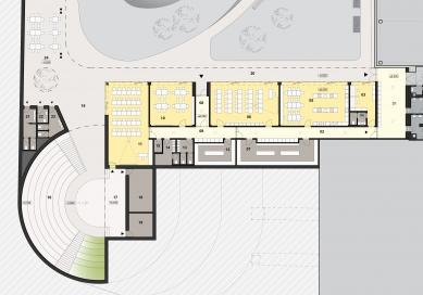 Centrum polytechnické výchovy avzdělávání - Půdorys