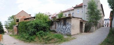 Altán městské knihovny ve Vamberku - Fotografie původního stavu - foto: Archiv Martin Kožnar