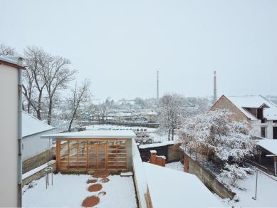 Altán městské knihovny ve Vamberku - foto: Peter Fabo