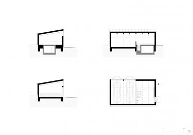 Dům vosadě - Plány garáže - foto: Vít Podráský