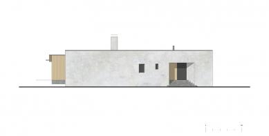 Dům vosadě - Pohled - foto: Vít Podráský