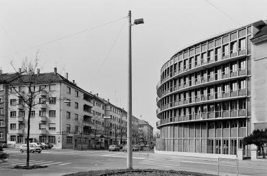 Apartment and Office Building Schwitter - Historický snímek