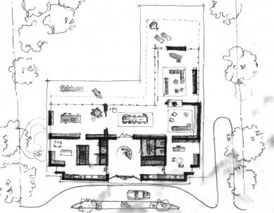 Villa B - Skica