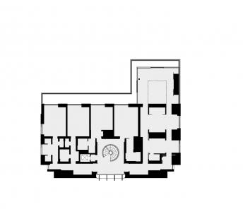 Villa B - Půdorys 2NP