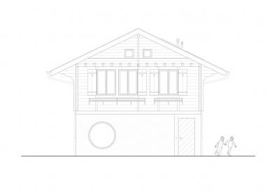 Mr. Barrett's House - Jižní pohled - foto: BUREAU