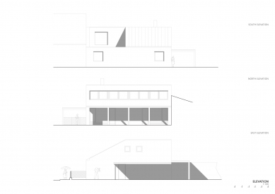 Rodinný dům ve Zlíně - Pohledy - foto: NOVÝ architekti