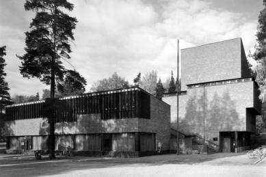 Radnice v Säynätsalo - foto: Martti Kapanen | Alvar Aalto Museum