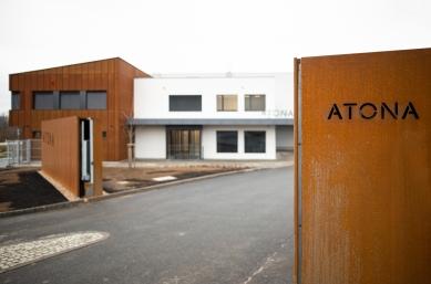 Výrobní hala s administrativou firmy ATONA Blansko
