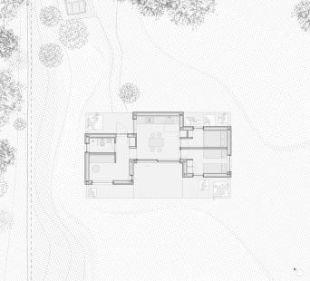 Luční dům - Situace - foto: Lookofsky Architecture
