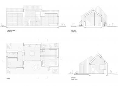 Luční dům - Plány - foto: Lookofsky Architecture