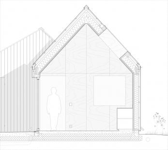 Luční dům - Detail - foto: Lookofsky Architecture