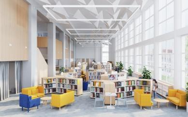 Inovační a vzdělávací centrum International School of Prague - Vizualizace
