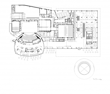 Library of Birmingham - Půdorys 1NP