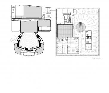 Library of Birmingham - Půdorys 2NP