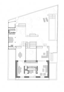 Rodinný dům s atriem - Půdorys 2NP