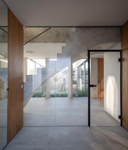 Rodinný dům s atriem - foto: Alex Shoots Buildings