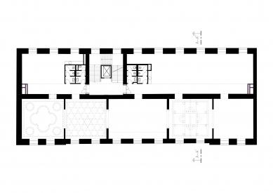Bochnerův palác - Půdorys 2.np - foto: Studio acht