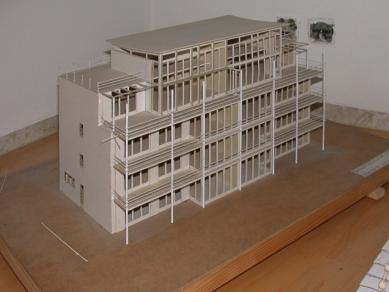 Tři bytové domy na Luzerner Ring - Model domu - foto: Petr Šmídek, 2003