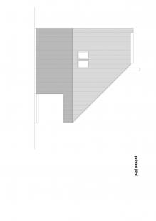 Chata Nové Hamry - Pohled jižní