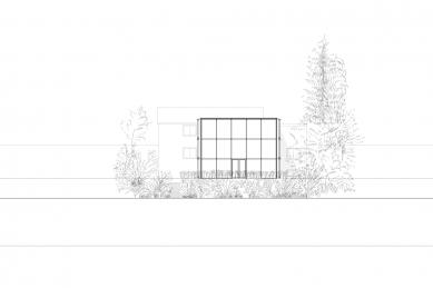 Dům B - Jižní pohled - foto: Aretz Dürr Architektur