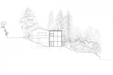 Dům B - Východní pohled - foto: Aretz Dürr Architektur