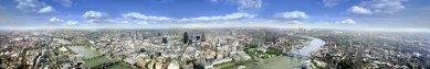 London Bridge Tower - Panoramatický výhled z vrcholu budoucí věže. - foto: © Hayes Davidson and John Maclean
