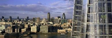 London Bridge Tower - Pohled na City z horních kancelářských pater. - foto: © Hayes Davidson and John Maclean